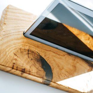 Ipad und Tablet Halter Rustic