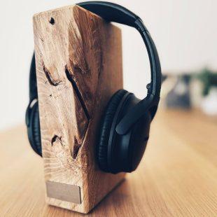Kopfhörer Halter Holz
